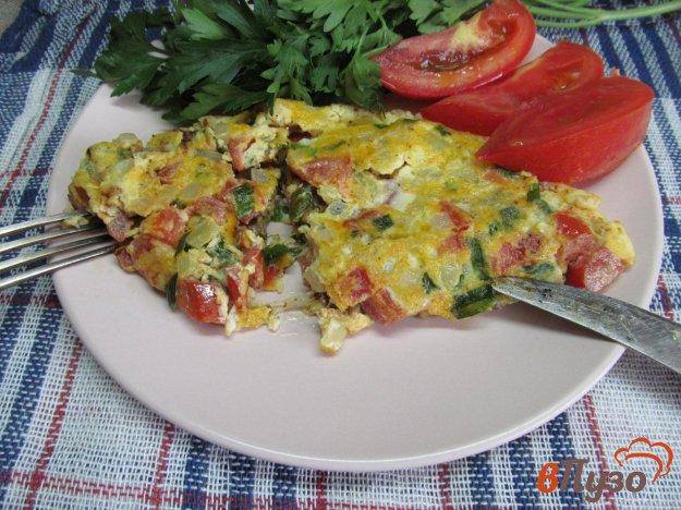 фото рецепта: Индийский омлет с овощами