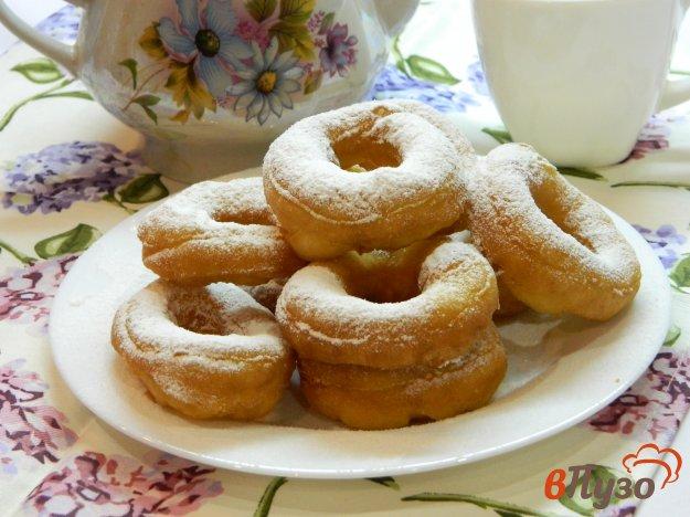фото рецепта: Пончики на кефире