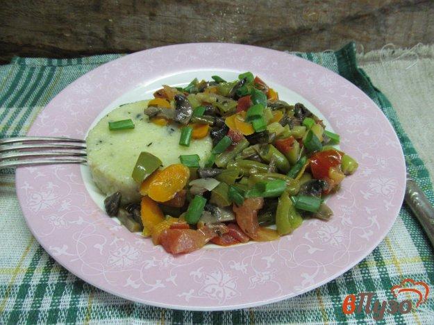 фото рецепта: Полента с овощами