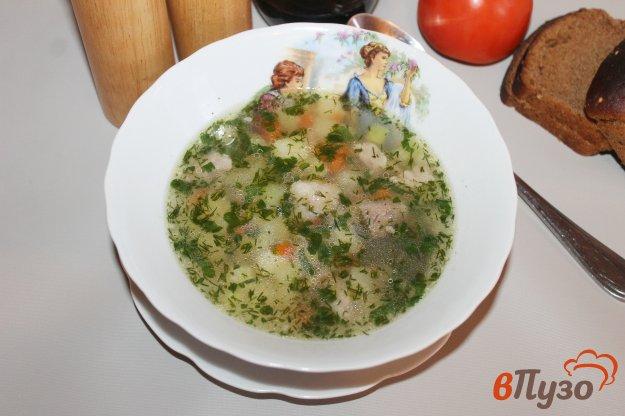 фото рецепта: Суп с кабачком и свининой