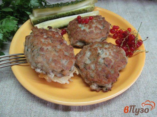 фото рецепта: Котлеты из мясного фарша с тестом