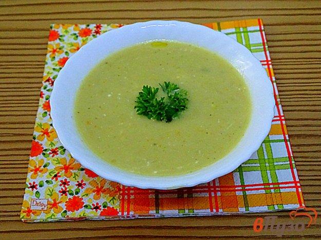 фото рецепта: Суп пюре из кабачка