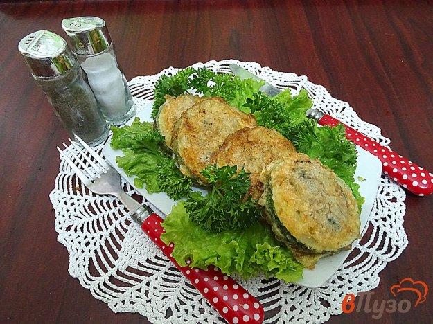 фото рецепта: Кабачки жареные с фаршем