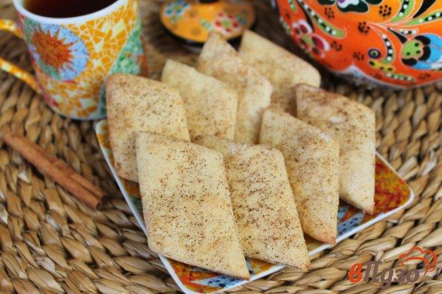 фото рецепта: Творожное печенье с корицей