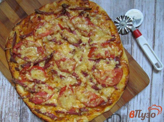 фото рецепта: Пицца домашняя с салями
