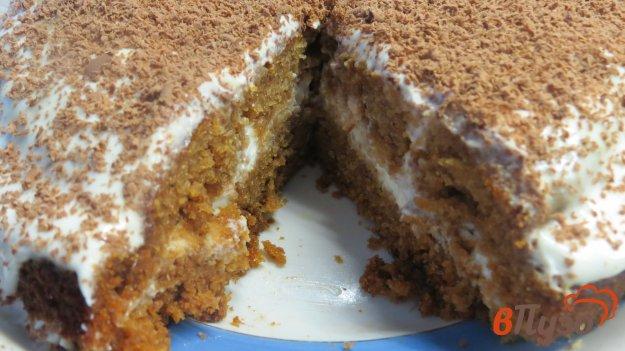 фото рецепта: Торт со сметанным кремом