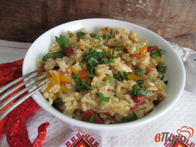 фото рецепта: Плов из курицы с овощами