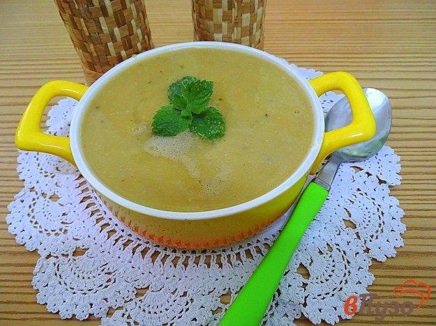 фото рецепта: Турецкий суп пюре из чечевицы *Мерджимек чорбасы*