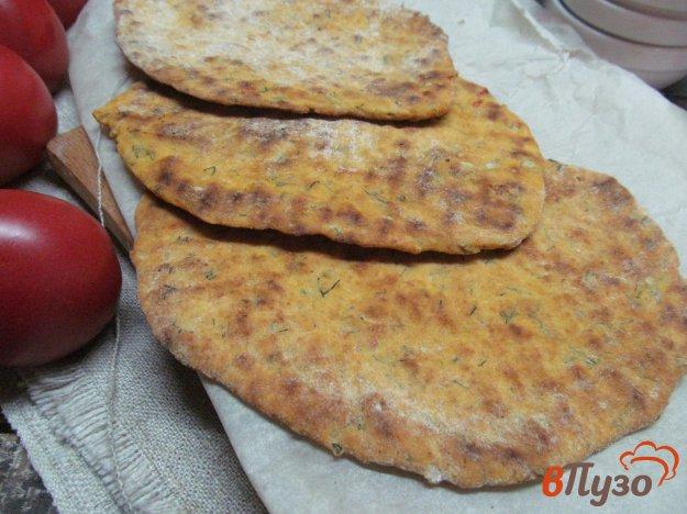 фото рецепта: Томатный лепешки на соде