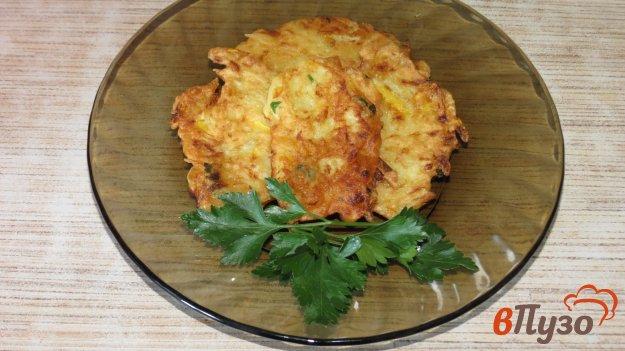 фото рецепта: Картофельно - кабачковые оладьи