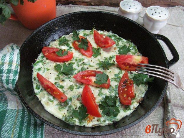 фото рецепта: Мясной фарш с картофелем в яйцах