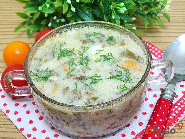 фото рецепта: Суп со щавелем и капустой