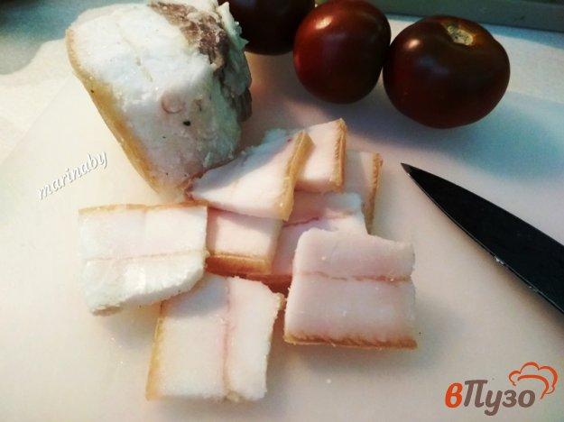 фото рецепта: Домашнее сало с чесноком