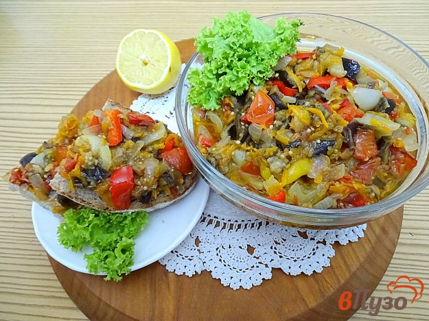 фото рецепта: Икра из баклажанов в духовке