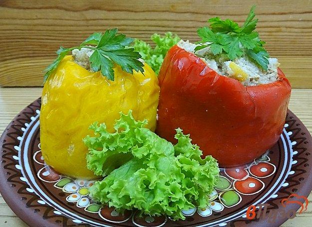 фото рецепта: Перец фаршированный, на сковороде