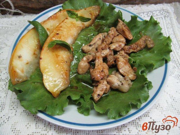 фото рецепта: Куриное филе с дыней в азиатском стиле