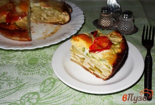 фото рецепта: Овощная слоеная запеканка