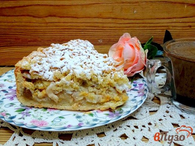 фото рецепта: Песочный пирог с яблоками