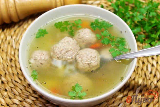 фото рецепта: Суп с фрикадельками из телятины