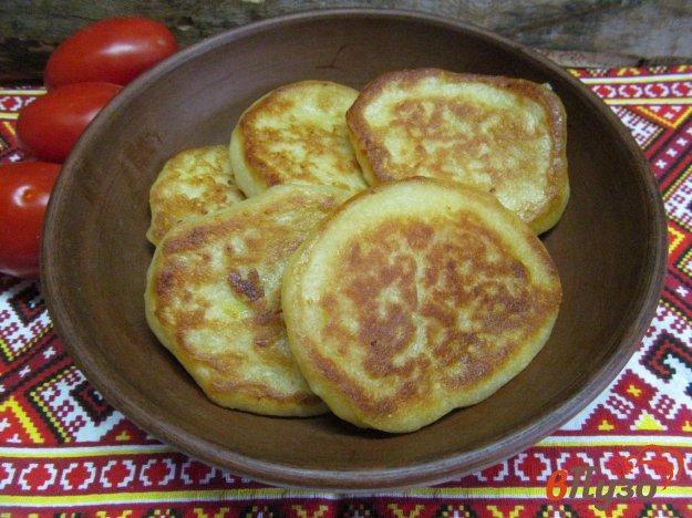 фото рецепта: Картофельные оладьи на дрожжах