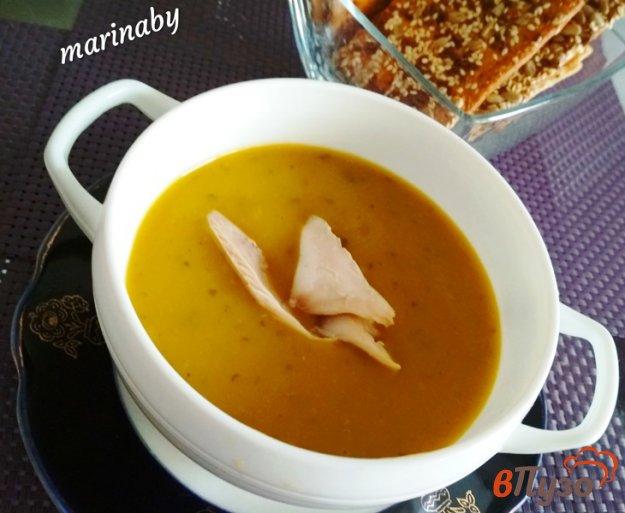 фото рецепта: Суп-пюре из овощей и курицы