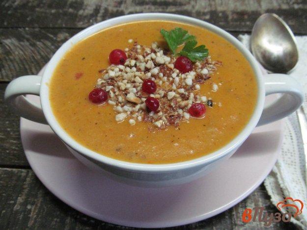 фото рецепта: Марокканский тыквенный суп-пюре