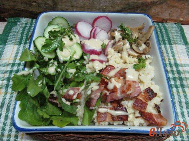 фото рецепта: Миска разнообразия с пшеном и овощами