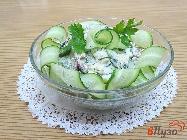 фото рецепта: Салат огуречно - яичный