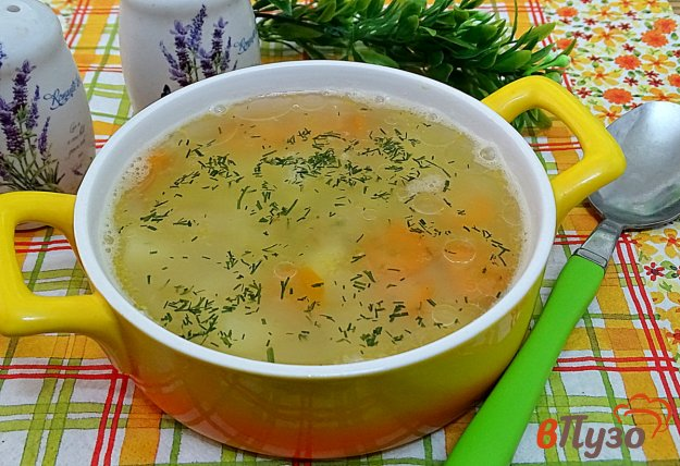 фото рецепта: Классический гороховый суп без мяса