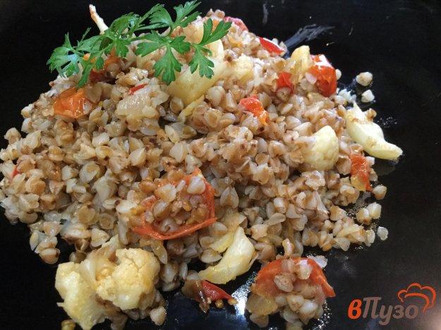 фото рецепта: Гречка с овощами в мультиварке