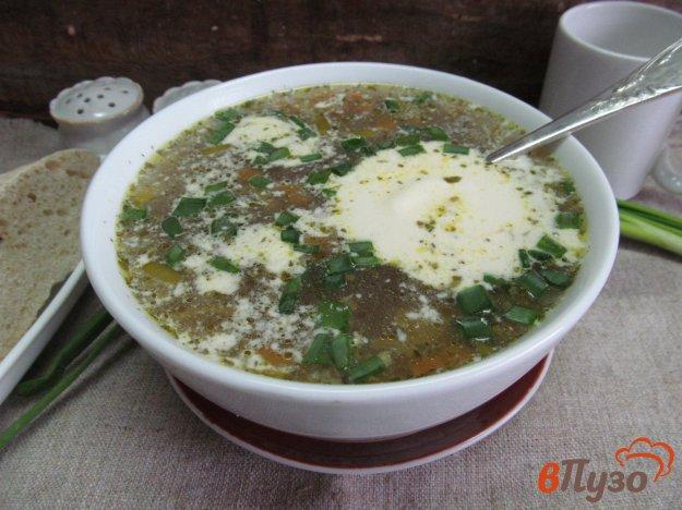 фото рецепта: Куриный суп с перловкой