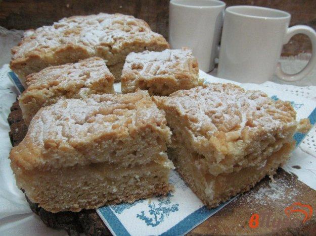 фото рецепта: Пирог с лимонной начинкой
