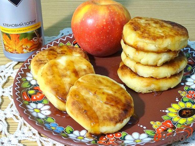 фото рецепта: Сырники с яблоком