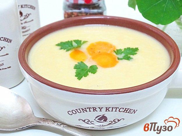 фото рецепта: Суп пюре из кабачков и картофеля