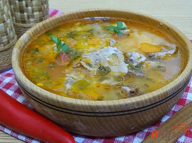 фото рецепта: Суп со свининой и рисом