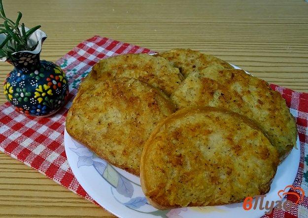 фото рецепта: Бутерброды с картофелем и фаршем