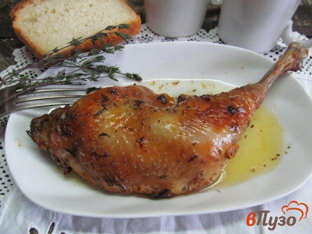 фото рецепта: Лимонная курица с тимьяном