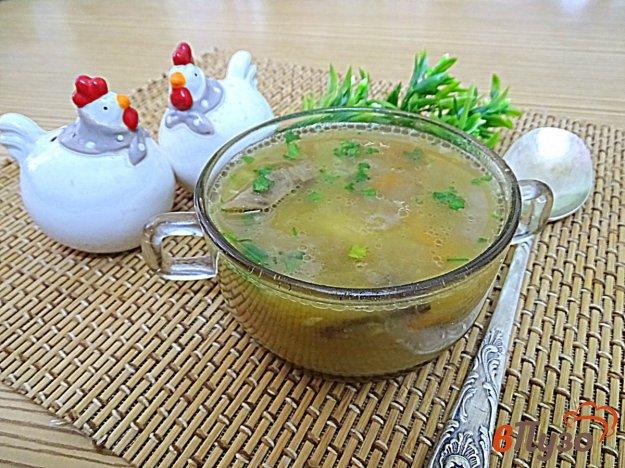 фото рецепта: Гороховый суп с грибами по белорусски
