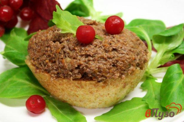 фото рецепта: Паштет из кролячих сердечек и овощей