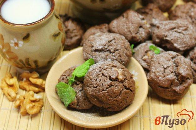 фото рецепта: Шоколадное печенье на основе ржаной муки