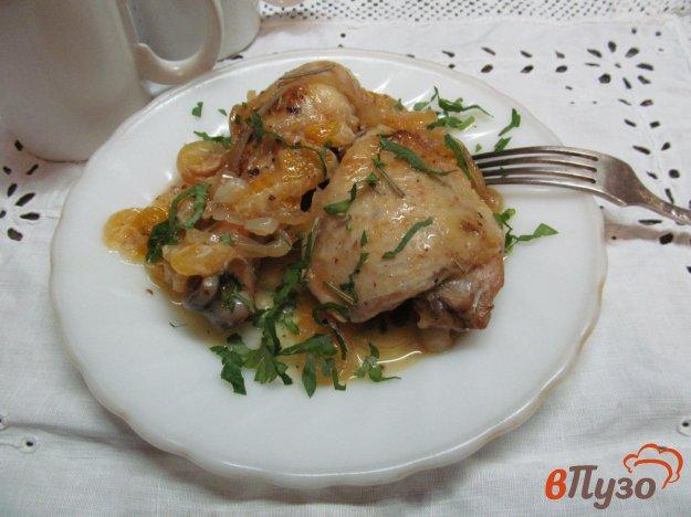 фото рецепта: Курица с мандаринами