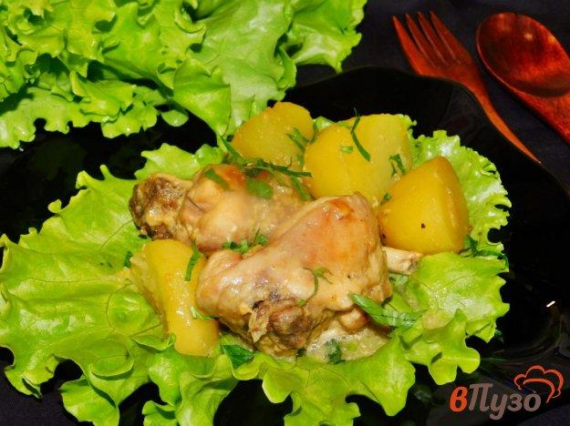 фото рецепта: Кролик с картошкой
