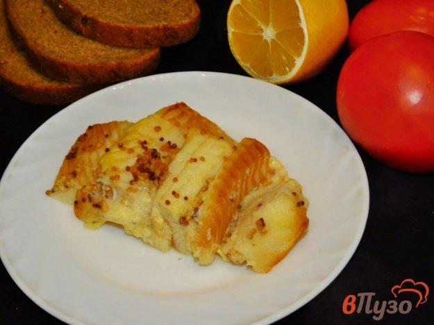 фото рецепта: Палтус, запеченный в духовке