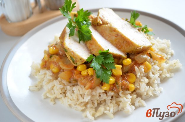 фото рецепта: Куриное филе под соусом
