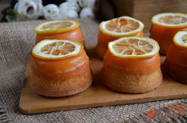 фото рецепта: Лимонные пирожные Сансы Старк