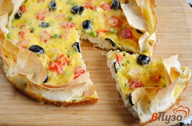 фото рецепта: Пирог в лаваше