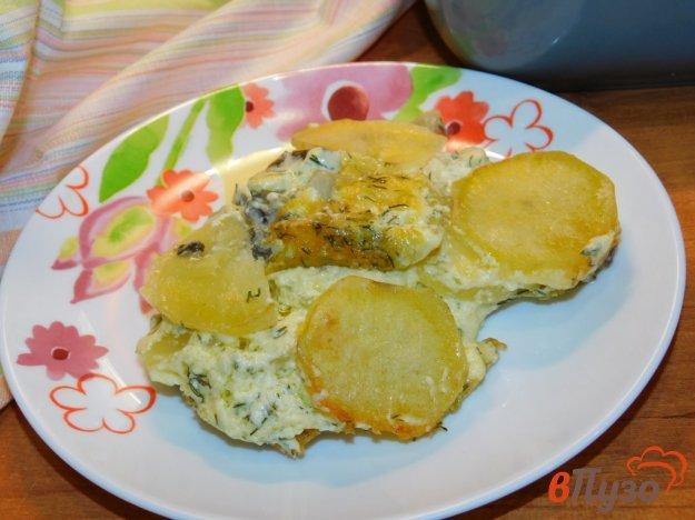 фото рецепта: Картофельная запеканка под шубой