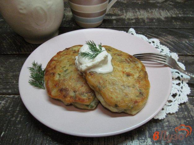 фото рецепта: Картофельные зразы с квашеной капустой
