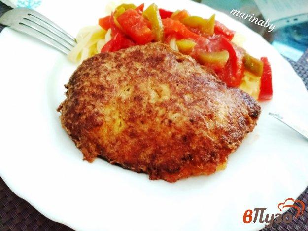 фото рецепта: Запеченная куриная мякоть бедра в панировке