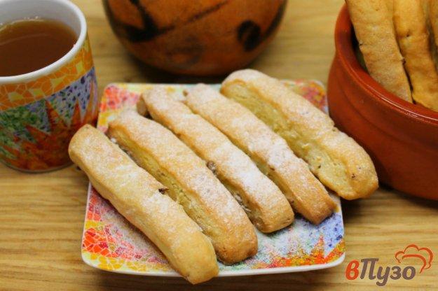 фото рецепта: Печенье с орехами и цедрой лимона